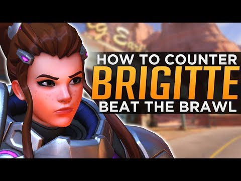 Overwatch: How To COUNTER Brigitte!