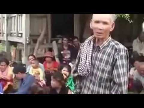 Khmer Citizen's Expression about the Invasion of Vietnamese