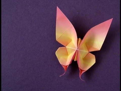 origami kelebek yapımı