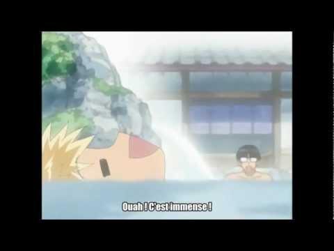 School Rumble - Onsen (VOSTFR)- Le moment le plus drôle de l'anime!