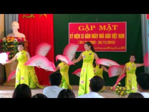 múa nét việt- TH Số 2 Lâm Giang