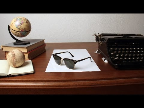 Thumbnail of video Super Clever Sunglass Illusion -Ray Ban
