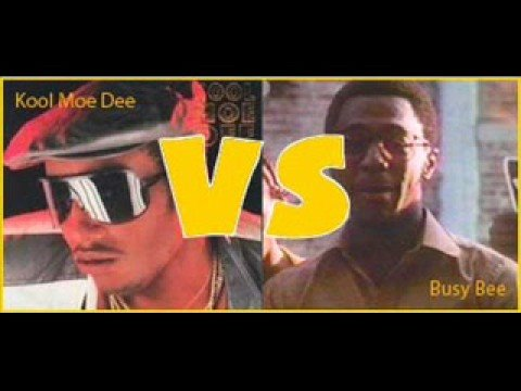 Busy Bee Vs. Kool Moe D (the original battle!!)