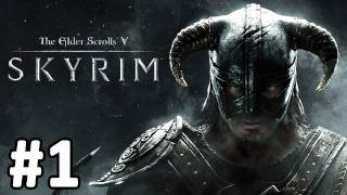 Let's Play Elder Scrolls V: Skyrim German Part 1 INTRO