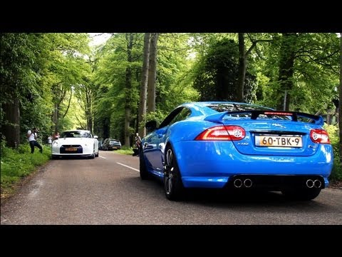 4 Minutes Supercars Accelerating - SLR, 458 Spider, 2012 XK-RS, M5 w/ Eisenmann Race Exhaust