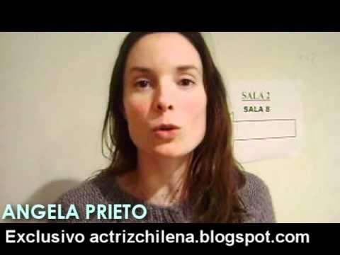 Angela Prieto saluda al blog Actriz Chilena