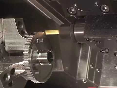 CNC lathe for the manufacture of spare parts