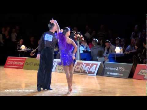34th Copenhagen Open - GrandSlam Latin - solo Rumba - Andrey Zaytsev &amp; Anna Kuzminskaya