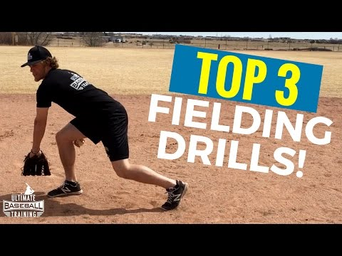 Top 3 Fielding Drills That Baseball Players SHOULD Be Doing!
