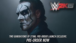 WWE 2K15 - Sting Pre-Order Launch Exclusive