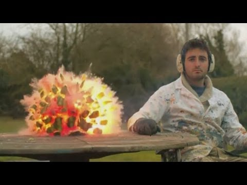 Watermelon explosion: Amazing Slow Mo Guys video in super slow motion