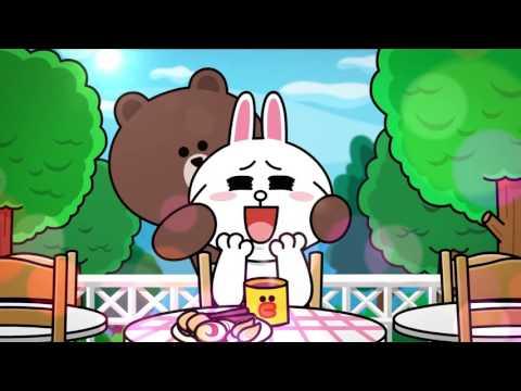 Gấu bông Brown và Thỏ Cony