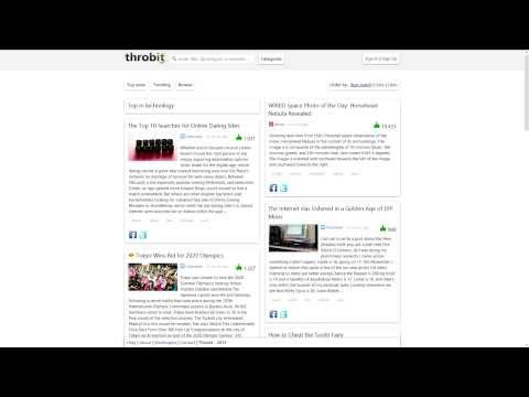 Throbit - News aggregator