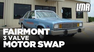 Fox Body Fairmont W/ Mustang 3V Engine Swap- Ford Racing