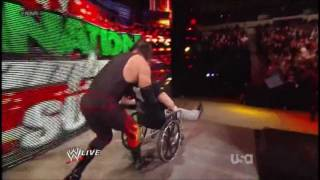 WWE: Kane Pushed A Wheelchair-bound Zack Ryder Off The