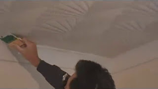 Drywall COMB Texture Artex Style Comb Borders: Perimeter