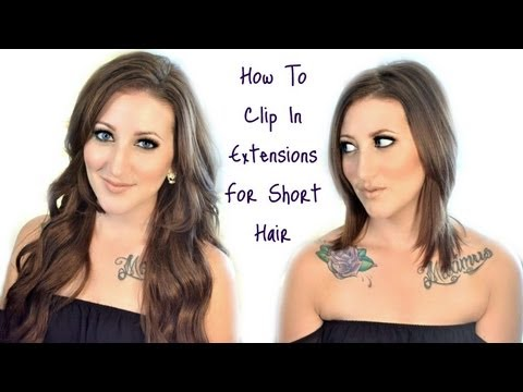 Learn exactly how to wear and blend clip in hair extensions learn exactly how to wear and blend clip in hair extensions fashionista pmusecretfo Gallery