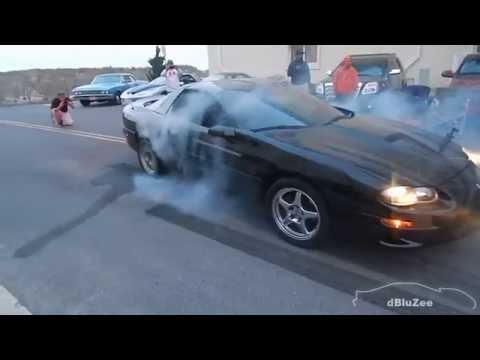 Cruisin' Ocean City, Maryland 2014 - Burnouts