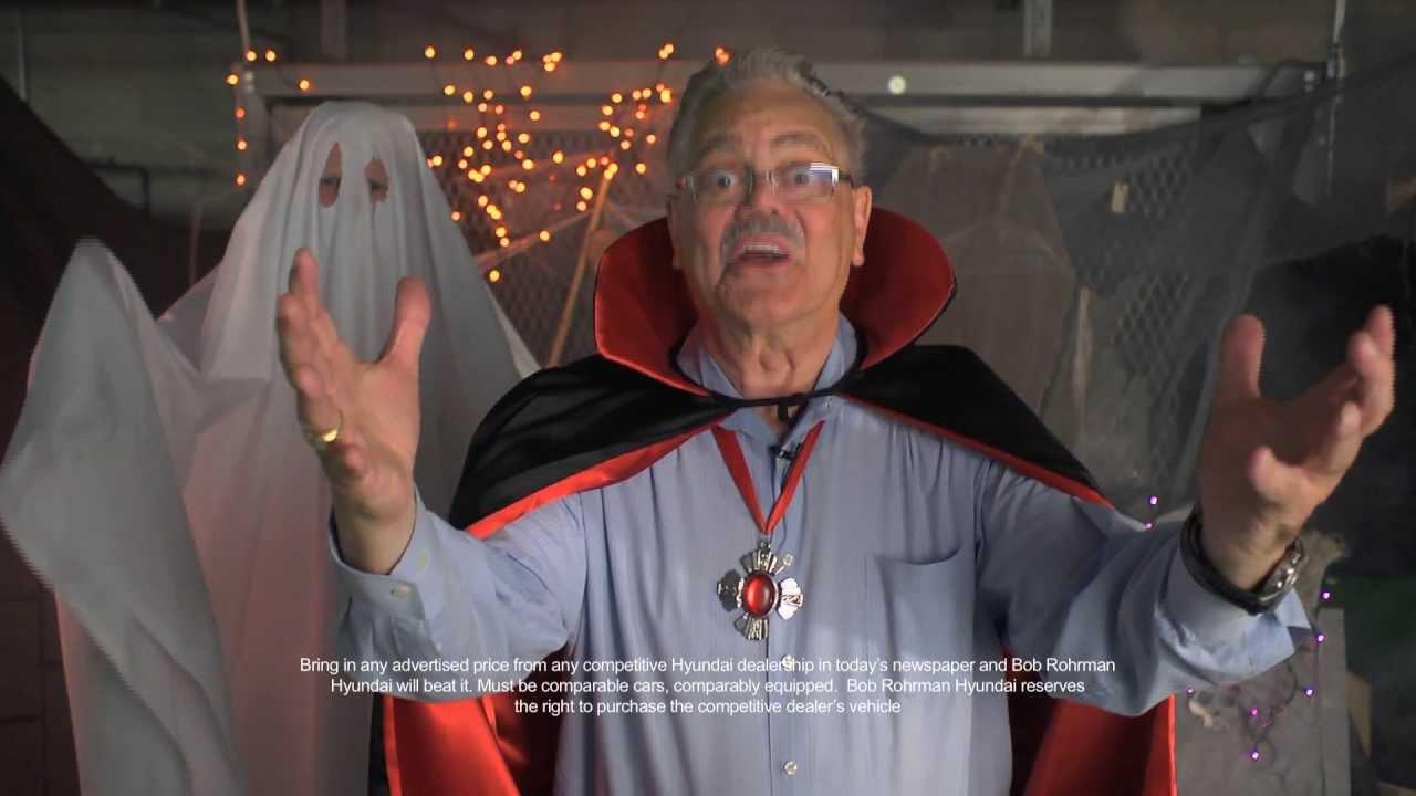 Bob Rohrman Hyundai October 2013 TV mercial