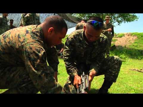 Philippine Marines and U.S. Marines Hone Military Skills Through Competition