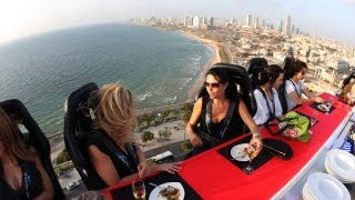 Fine Dining Goes to New Heights-180 Feet Up