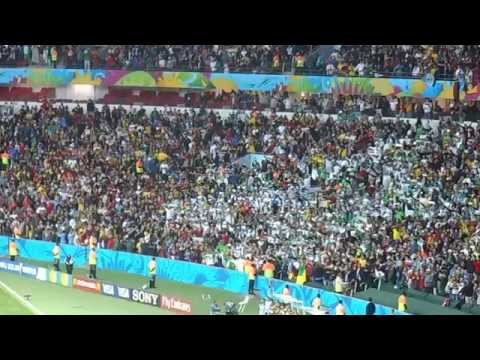 Algerian National Anthem - Germany 2x1 Algeria - FIFA World Cup 2014