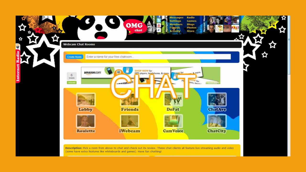 OMG Chat - Free Webcam Chat Rooms   OMGchat.com - YouTube