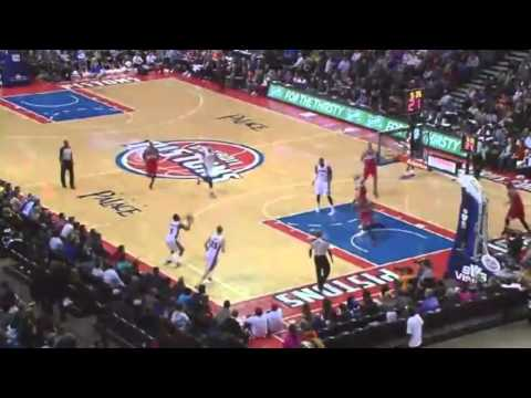Kentavious Caldwell Pope CAREER HIGH   Wizards vs Pistons   December 30  2013   NBA 2013 14
