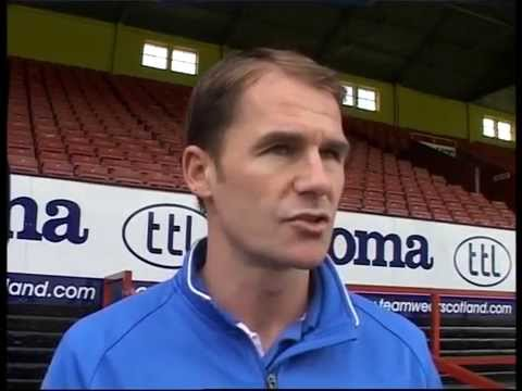 Alan Archibald St Mirren pre-match interview