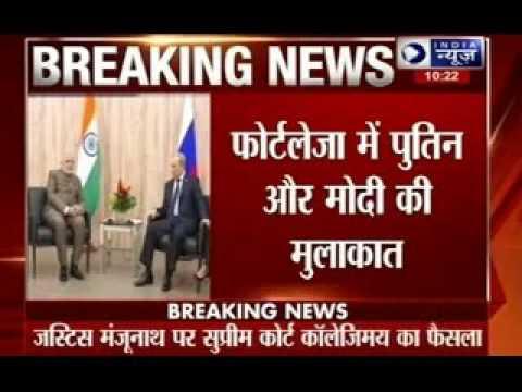 PM Narendra Modi invites Vladimir Putin to visit Kudankulam power plant