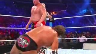 WWE SUMMERSLAM 2012 Triple H Vs Brock Lesnar