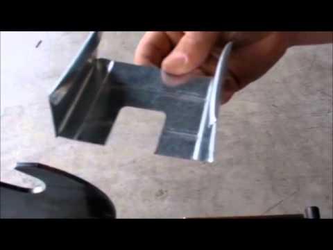 Guillotine pour profilés métalliques