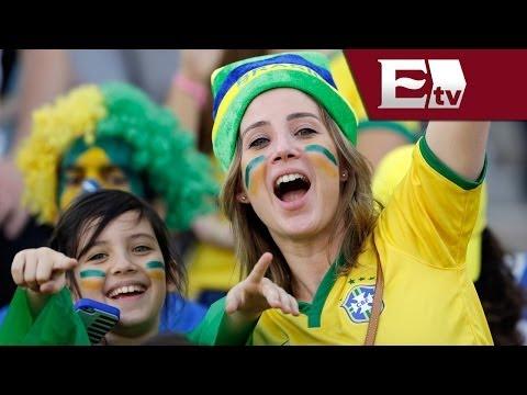 Impresionante ambiente en las playas de Río de Janeiro por el Brasil vs Croacia/ Gerardo Ruiz