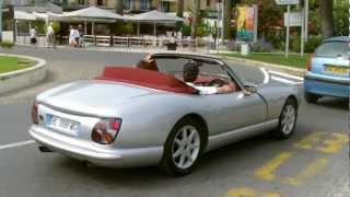 TVR Chimaera start up and sound