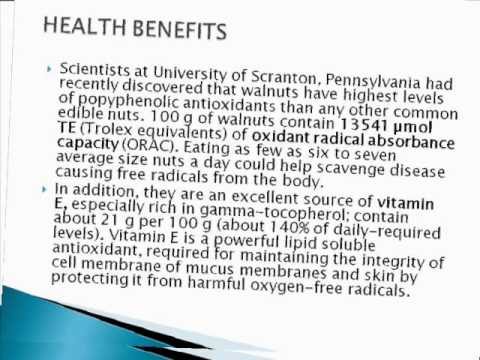 BENEFIT OF WALNUT