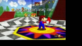 Super Mario 64-ganar Dos Estrellas En El Nivel Del Tobogan
