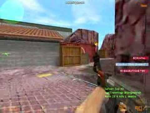 When 12 year olds play counter strike....with mics.