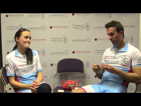 Teapot Talk with Michael Vaughan & Victoria Pendleton
