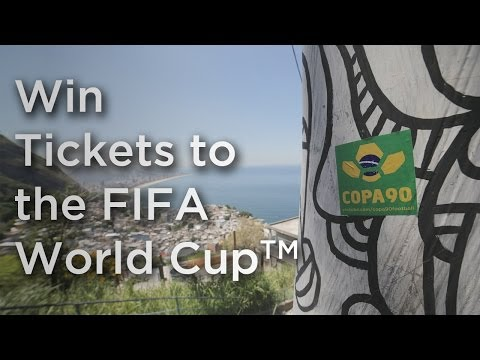 Win Tickets to the FIFA World Cup™