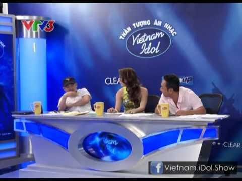 [Vietnam Idol 2012] Nguyễn Hương Giang khiến NS Quốc Trung