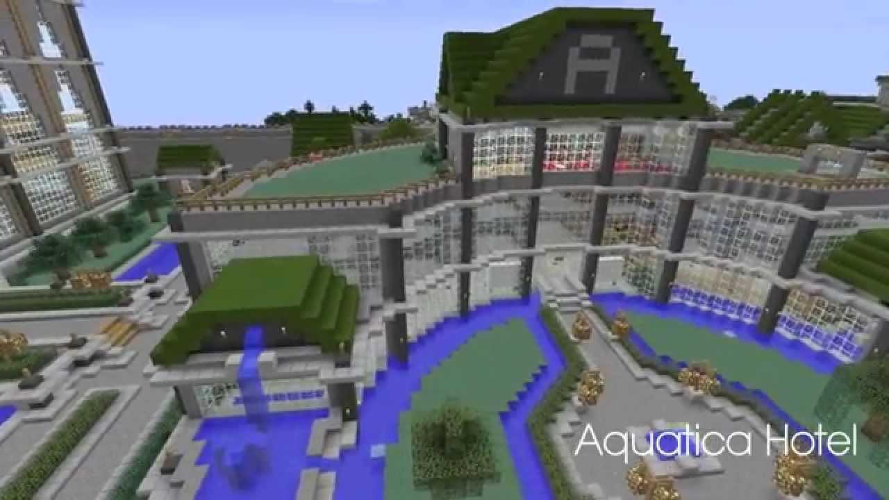 Minecraft ville de landrinos youtube - Video de minecraft ville ...