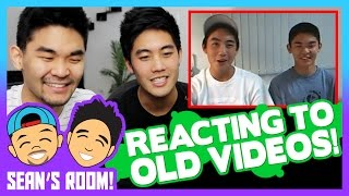 Reacting to Old Videos! (Sean's Room)