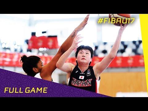 Japan v Brazil - Class 9-16 - Full Game - FIBA U17 Women's World Championships 2016