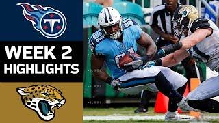 Titans vs. Jaguars | NFL Week 2 Game Highlights