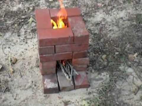 homemade budget rocket wood stove youtube