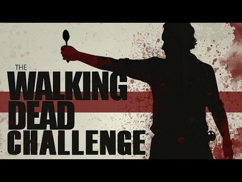 11 lbs Of Pudding in 3.5 Minutes! The Bear and The Walking Dead Carl Grimes Pudding Challenge