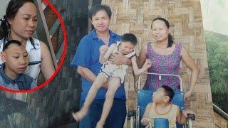 """Đâu là sự thật khi người mẹ bất ngờ xuất hiện """"vạch mặt"""" ông bố nuôi 2 con bị teo não...!1"""