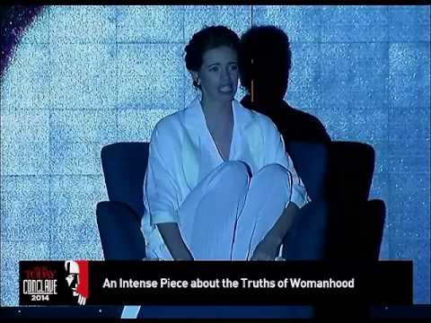 An intense piece about the truths of womanhood kalki perfomance