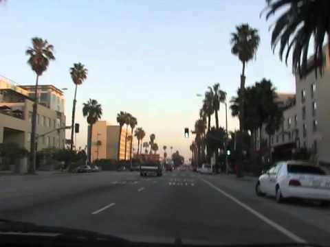 Driving Down Santa Monica Blvd.