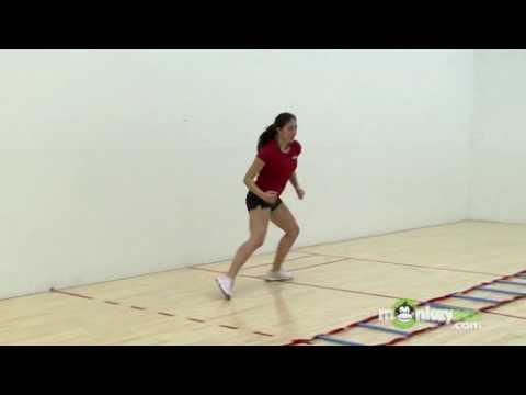 Racquetball Basics - Footwork Drills